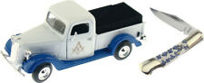 """Frost Cutlery Masonic Model 1937 Pickup Truck 7.5"""" x 3 x 2.5"""" with Knife"""