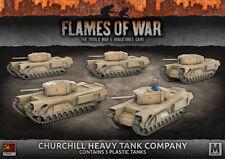 CHURCHILL GUARDS HEAVY TANK COMPANY - SBX56* - FLAMES OF WAR - SENT 1ST CLASS