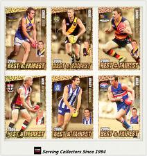 2007 AFL Herald Sun Trading Cards Best & Fairest 2006 Subset Card Full Set (16)