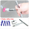 Car Body Paintless Dent Lifter Repair Tool Puller + 18 Tabs Hail Removal
