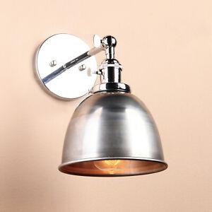 RETRO INDUSTRIAL STYLE SCONCE IRON LAMP SHADE VARNISH WALL LIGHT LOFT WALL LAMP