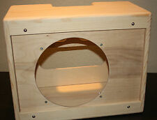 rawcabs 1x12 pine narrow panel unfinished deluxe cabinet for a 5F1 chassis