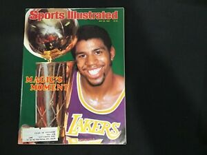 Sports Illustrated - May 16, 1980 Magic Johnson Moments L. A. Lakers