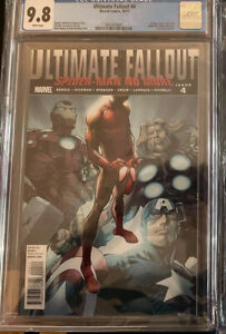 Ultimate Fallout #4 CGC 9.8 2011 First Print First Appearance of Miles Morales