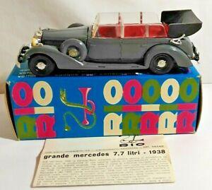 RIO 1:43 SCALE DIECAST 1938 GRANDE MERCEDES 8 CYL 7.7 LITRE - #21 - BOXED