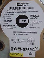 500 Go Western Digital WD 5000 AAJB - 00yra0 | DCM: hhrnht 2mab | 19 fév 2008 #552