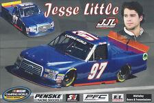 "2018 JESSE LITTLE ""JJL MOTORSPORTS"" #97 NASCAR TRUCK POSTCARD"