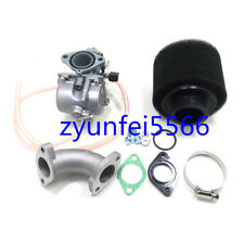 125CC ATV Dirt Bike Mikuni VM22 Carburetor PZ26 Carb Manifold Inlet Air Filter