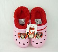 Disney Minnie Mouse Maus Kinder rosa Hausschuhe mit Futter Gr. 32/33