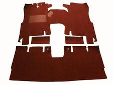 Kompl. Teppichsatz für Ford Taunus P7 Coupe 1967-1971 17M/20M/26M (P7) rot
