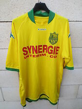 Maillot FC NANTES jaune Kappa supporter Canaris football shirt XL