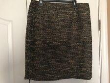 Ann Taylor A-line Tweed Skirt, NWT, 18
