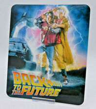 BACK TO THE FUTURE - Glossy Fridge or Bluray Steelbook Magnet (NOT LENTICULAR)