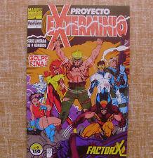 Comic, Proyecto Exterminio, nº 9 de 9,Golpe Final, Forum, Marvel Comics,Factor X