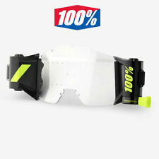 100% Forecast Motocross Goggle Roll-off Film System New Generation 100 Percent