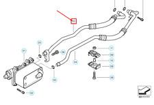 BMW 5 E60 Ingresso Olio Raffreddamento Tubo 17227799215 7799215 Nuovo Originale