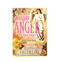 78 x Guardian Angel Tarot Cards Deck PDF Online Guidebook Divination Party Game
