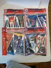 Complete Mini Pennant Sets NFL MLB NBA NHL Flags Banners Sets NRFPs