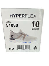 New listing *NEW* FootJoy HyperFlex Mens Golf Shoes - Gray/White/Blue (Size 10)