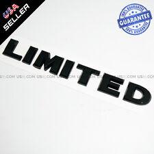 3D LIMITED Badge ABS Emblem Sticker Logo for JEEP Car Decoration - Gloss Black