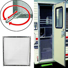Camco 43980 RV Aluminium Screen Door Standard Grille Guard Protector Camper