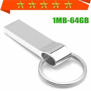USB Speicherstick 1MB-64GB FlashDrive Stick Pendrive Schlüsselbund Memory stick