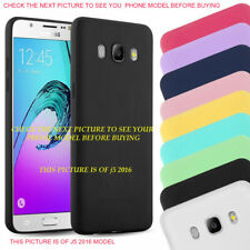 Slim Soft Matte Silicone Gel Back Case Cover for Samsung A6 A7 J4 J6 A5 J3 J5 A3