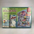 My First Dollhouse 3-D Foam Puzzle & Activity Book Read Build STEM Pretend Play