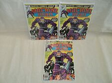 Machine Man #1 (3-Copies) Set/Lot! Nice/Sharp! 1978 Marvel Jack Kirby (s 6892)