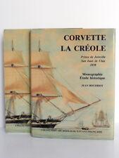 La Corvette 1650-1850. Monographie La Créole 1827. Jean BOUDRIOT. 1990 Maquette