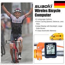 Suaoki Kabellos Fahrradcomputer Geschwindigkeitsmesser Bicycle Computer-Odometer