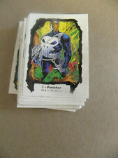 Comic Images 1991 complete JIM LEE Series II 45 card base set  NM  +