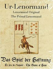 UR-LENORMAND - Das Spiel der Hoffnung - Reprint von 1799 - KARTEN-SET - NEU
