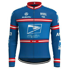 Retro United States Postal Service cycling long sleeve jersey cycling jerseys