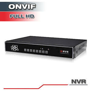 16Ch NVR Real-Time Full HD 1080p Recording Surveillance NVR System