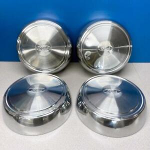 "16"" Ford Van E250 E350 F250 F350 Dog Dish Hubcaps Wheel Covers # F2UZ1015C SET/4"