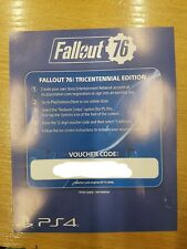 Fallout 76 Tricentennial Edition Pack DLC Digital Code Only PS4 NO GAME