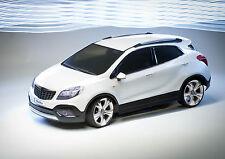 "Opel ""moca"" RC carrocería escala 1:10 sin pintar con Decals & ventana máscaras"