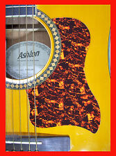 ACOUSTIC GUITAR PICKGUARD / SCRATCHPLATE TORTOISESHELL LARGE SCRATCH PLATE
