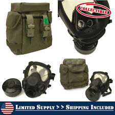 NEW! NATO Military Surplus MP5 Gas Mask with Bag and Filter, Collectible