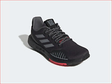 🔥100% AUTH ADIDAS PulseBOOST HD Winter in a handsome Grey/Grey/Red Colorway! 🔥