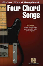 Four Chord Songs Guitar Chord Songbook 40 Songs! Book NEW!