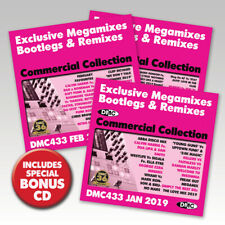 DMC Commercial Collection 433 Exclusive Megamixes, Remixes & Two Trackers 3 CDs