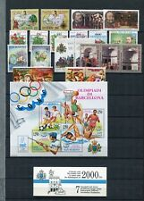 SAN MARINO 1992 MNH COMPLETE YEAR (with Booklet)