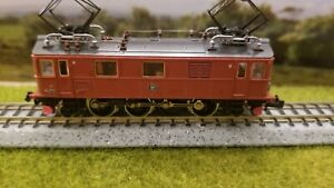 FLEISCHMANN #7368 N-SCALE SWEEDISH Du 321; ca. 1980