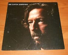 Eric Clapton Journeyman Poster 2-Sided Flat Square 1989 Promo 12x12 Rare