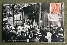CPA. PARIS. 75 - FÊTE FORAINE. 8. Parade des Lutteurs. 1906.