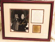 Gary Player Autographed Photo Reprint w/ Frame, Plaque, Description ~ Golf ~ COA