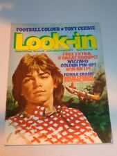 LOOK-IN BRITISH WEEKLY MAGAZINE #16 14TH APRIL 1973 TONI CURRIE