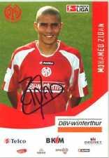 alte Autogrammkarte FSV Mainz 05  Mohamed Zidan
